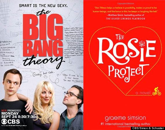 Recommended reads based on your favourite TV show via Huffington Post. Have to say, quite enjoyed The Rosie Project.