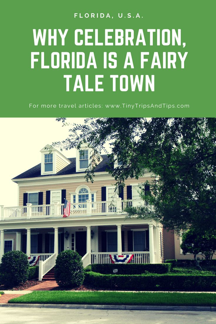 For those who watched Desperate Housewives, Celebration in Florida will remind 100% you of Wisteria Lane.