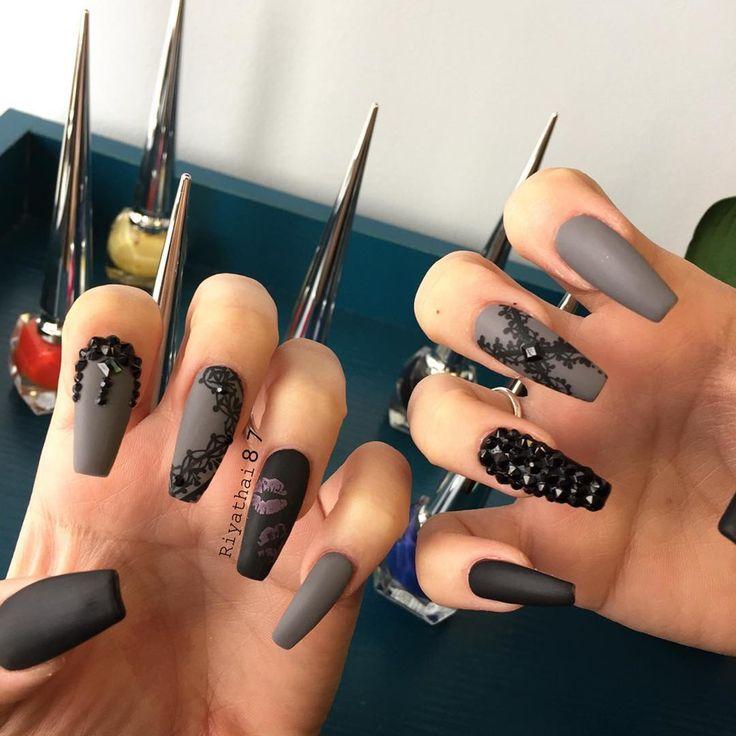 480 best Uñas Ballerina images on Pinterest | Cute nails, Nail ...