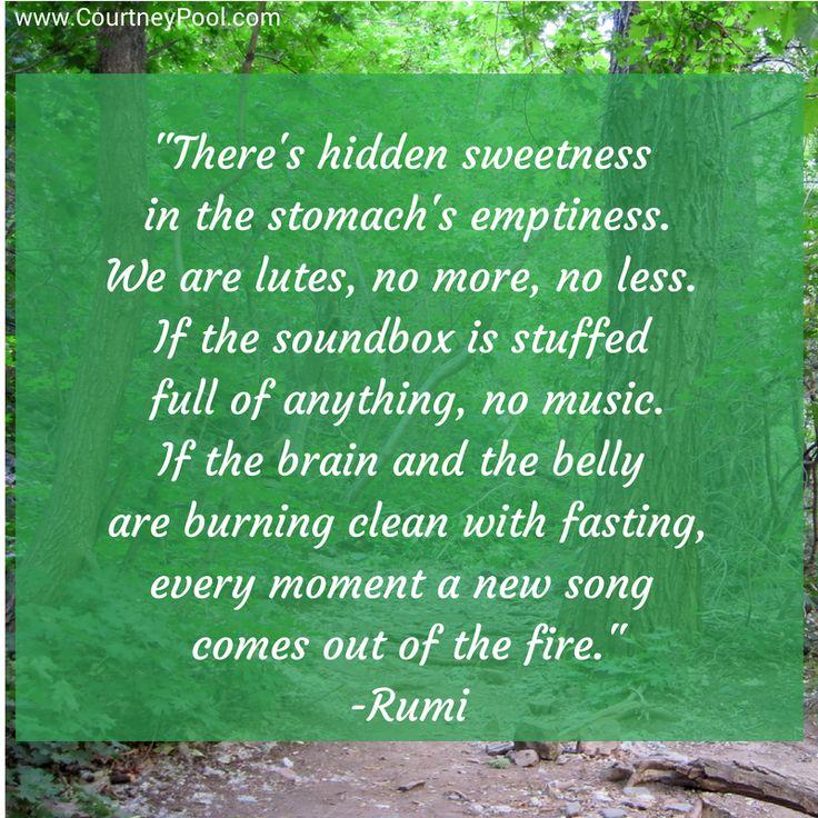 La Quaker The Joy Of Fasting According To Rumi