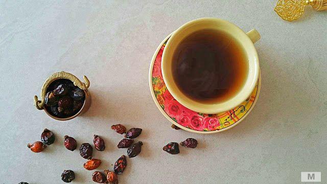 Parlak ve pürüzsüz cilt için doğal kuşburnu çayı ve maskesi
