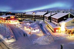 Crazy Reindeer Hotel in Levi #lapland #christmas