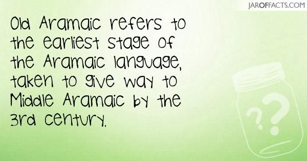how to learn aramaic language