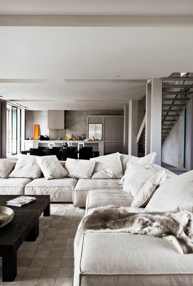 Comfortable lounge suite great, white prob not great in common area Gallery | Australian Interior Design Awards
