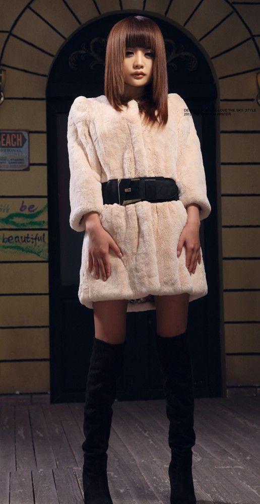 Furfox Rex Rabbit Fur Coat レッキス ラビットファー 毛皮 ジャケット ブルゾン コート アウター Online shopping Website:http://www.furhall.com/