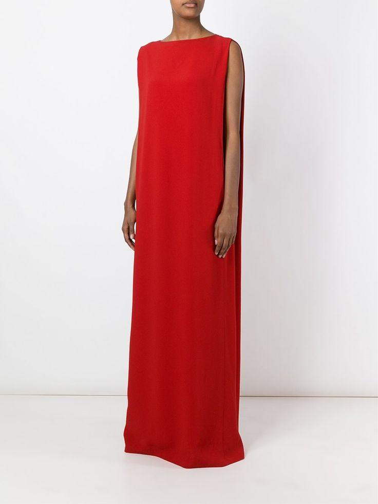 Chalayan длинное прямое платье