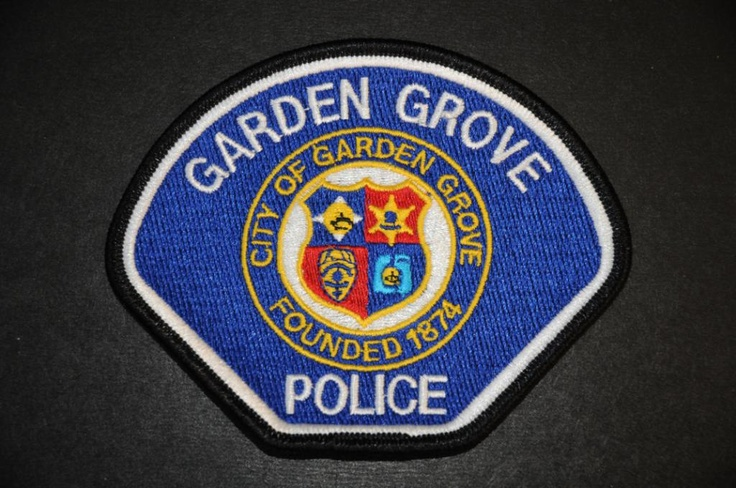 Garden Grove Police Patch, Orange County, California (Current 1995 Issue)