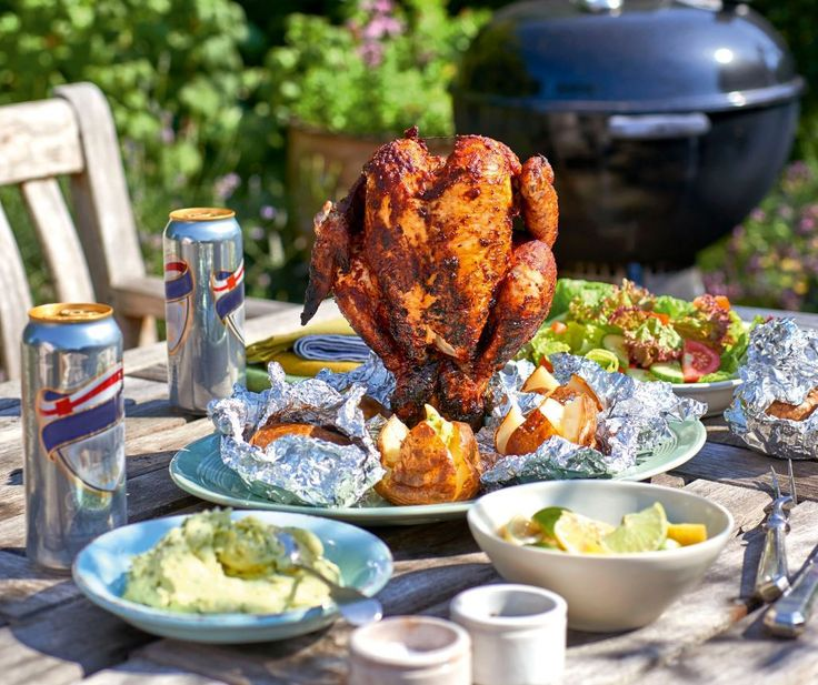 We've got a beer recipe from celebrity chef and ex Saturday Kitchen star James Martin – the man who has apparently cost the programme a million viewers when he left, that's how good his chicken is.  His piri piri take on the Oz classic will help you get your spice on and get the chook cooked in the best possible way.