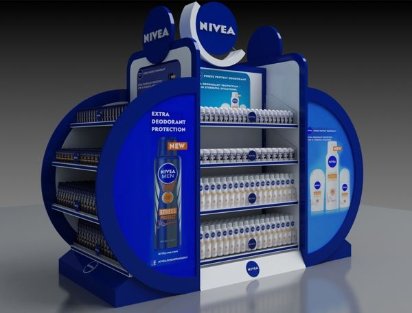 NIVEA stanD on Behance | Point of purchase | Pinterest ...