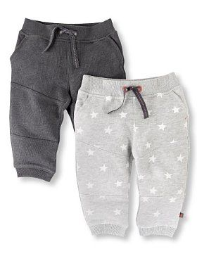 Boy's 2 Pack Star Joggers £9.00 [added to wish list for grandson K.