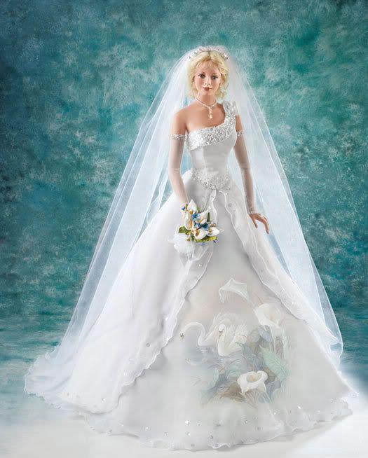 79 best Free doll wedding dress patterns images on Pinterest ...