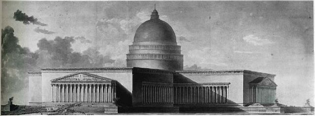 etienne louis boullee architectural mastery composition talent critique