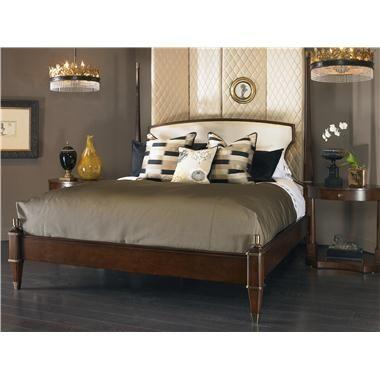 Consulate (599186) JOSEPHINE POSTER BED UPH HEADBOARD