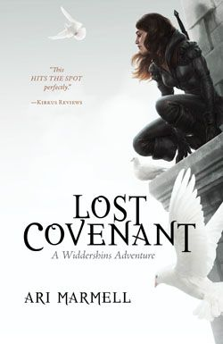#NewRelease ♥ Lost Covenant: A Widdershins Adventure by Ari Marmell ♥ Pyr   Hardcover   December 3, 2013   This third YA novel starring the young thief Widdershins combines the angst and vulnerability of any teenage girl with the high action of the best fantasy adventures.