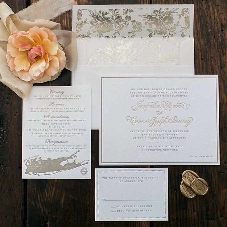 fast shipping wedding invitations%0A Adrienne Kierans on Instagram   u   cChampagne foil and hand calligraphy for the  classic bride