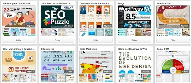 1000infografiasP 1000 Infografías para estudiar SEO, Social Media y Marketing