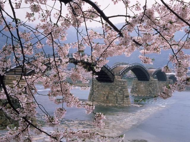 錦帯橋・吉香公園(山口県岩国市)