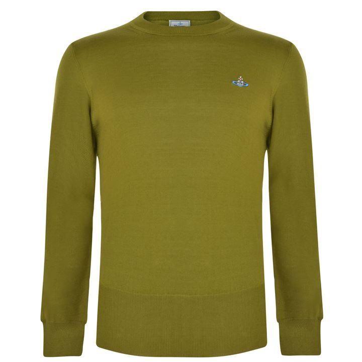 Vivienne Westwood Man Crew Neck Sweatshirt: Olive