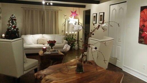 Family room set up for February