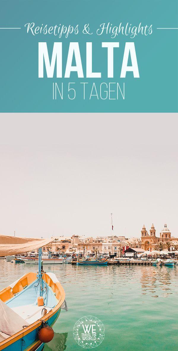 Malta in 5 Tagen: 15 großartige Reisetipps und Highlights für deine Malta Reise – WE TRAVEL THE WORLD   Reise Blog   Reiseinspiration