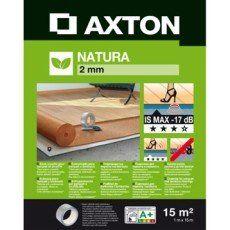 Sous-couche parquet et sol stratifié, Natura liège Ep.2 mm AXTON, 15 m² = 44,85€ l unité CHEZ LM