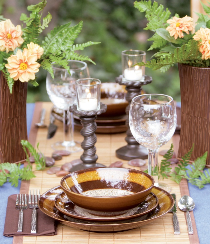 A garden inspired tablescape!