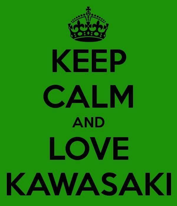 Keep calm and love Kawasaki
