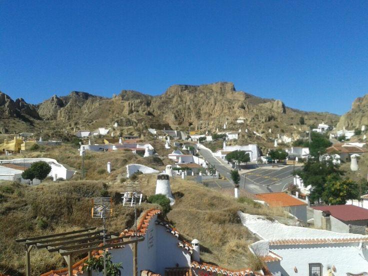 Guadix cave dwellings