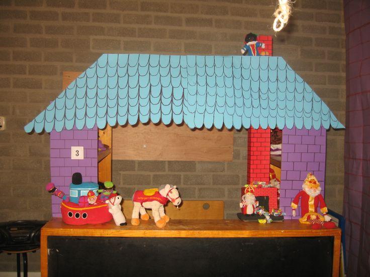 Themahoek Sinterklaas op het pleintje 01 Nutsschool Maastricht