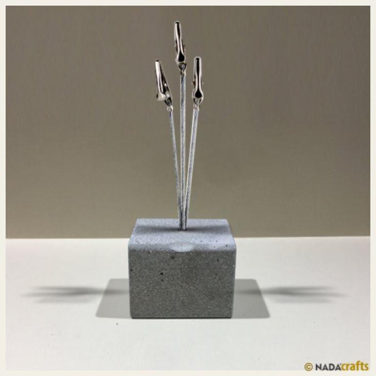 Nerites Not Kıskacı, NadaCrafts.com | Concrete Ürünler