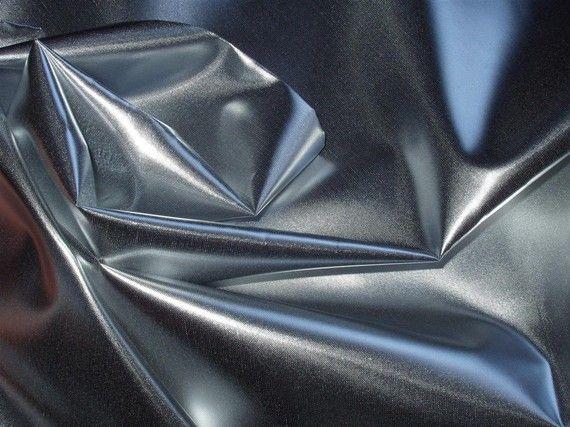 Silver liquid Lame Fabric