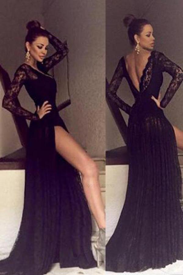 Custom Made Fine Open Back Party Dresses 23ea7a274830