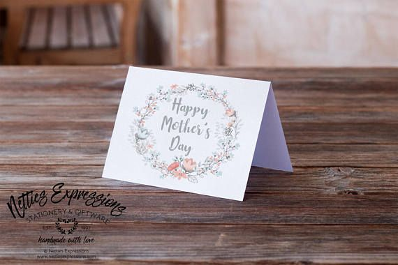 Happy Mother's day Greeting Card Stationery