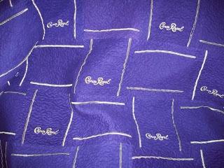 Crown Royal Bag quilt idea