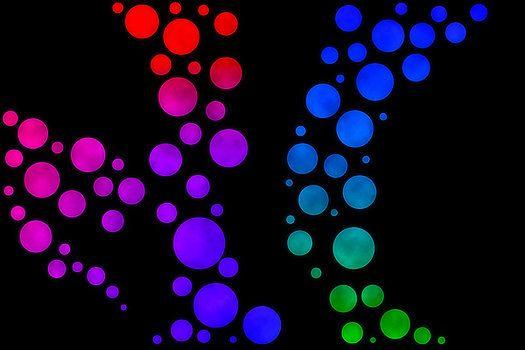 Colourful Art - Magic Bubbles - Mark Blauhoefer by Mark Blauhoefer
