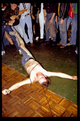 Dead Kennedys' Jello Biafra by Bruce Conner (1978)