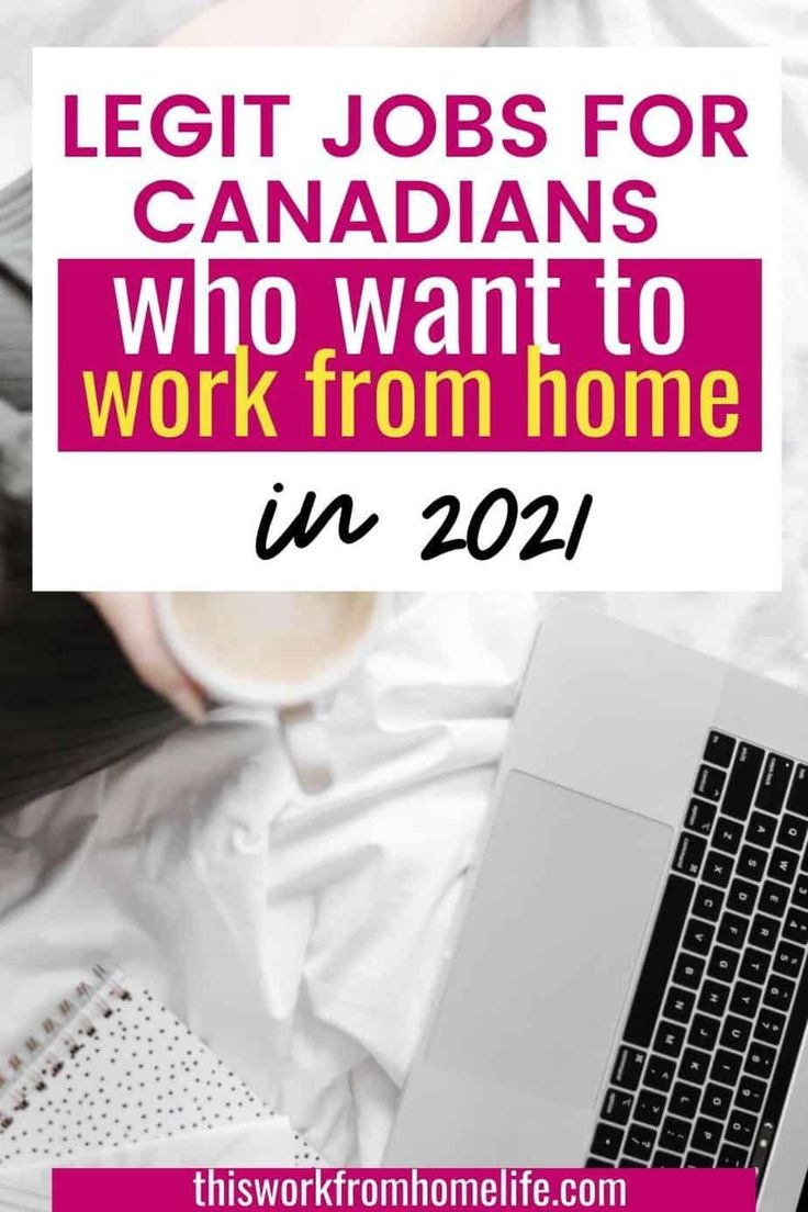 Home Based Job Opportunities in Canada In 2021 in 2020