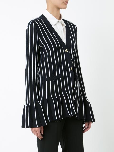 Thom Browne flared striped cardigan