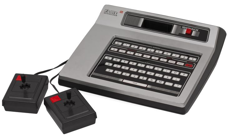 Oddysey 2 - My first gaming console. Better graphics and sound than Atari 2600, but less variety of games.