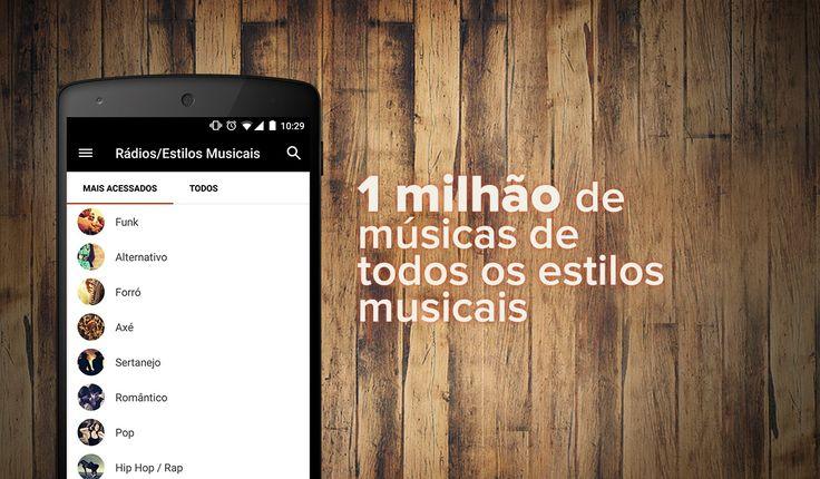 Melhor app para baixar música no Android - Palco MP3. Confira: