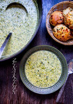 Ost- och broccolisoppa - ZEINAS KITCHEN
