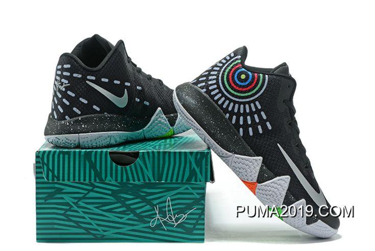 Nike Kyrie 4 Mens Basketball Shoes Black Top Deals