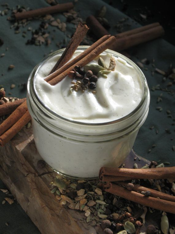 Organic Spicy Chai Lotion - Made with my own Organic Chai Spices Infused into Organic Oil - 100% from scratch - No bases used