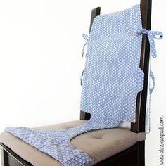 Chaise nomade pour bébé, couture par Alice Gerfault