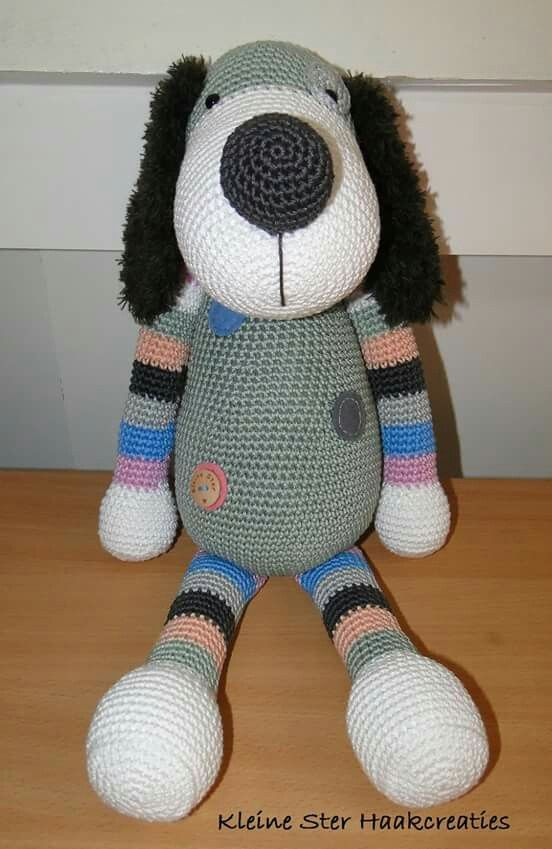 Hond Boris (patroon Stip & Haak)