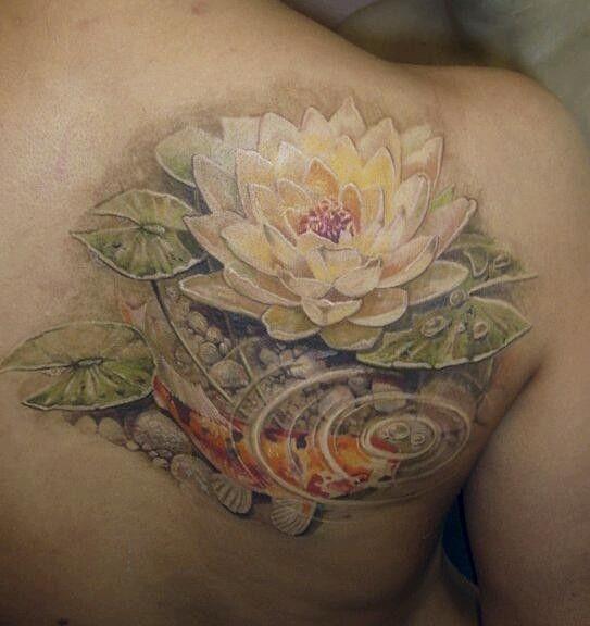 Water Lily Tattoo Tattoos Pinterest Birth Month