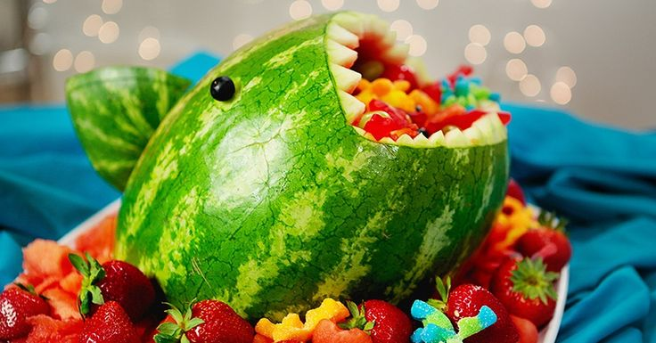 Celebrate @SharknadoFilm and @SharkWeek with this jaw-dropping #watermelonshark