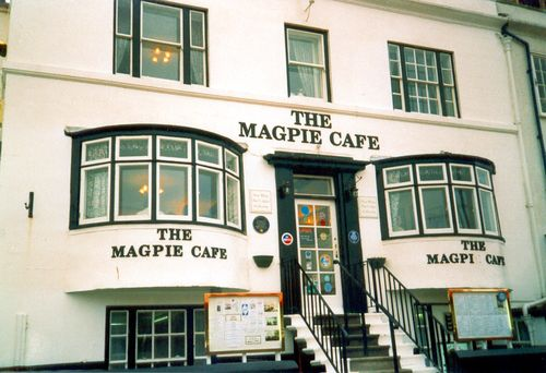 We were told The Magpie Cafe had the best fish & chips in Whitby. They were very yummy but we could only eat half the portions they gave us!