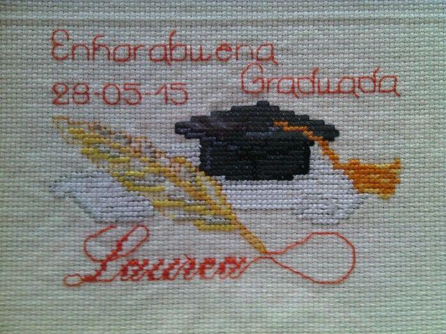 Mi última creación para los graduados.