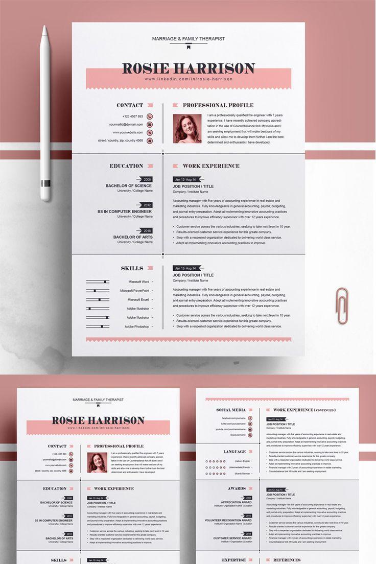 Rose Resume Template Resume Rose Resume Template Click More Photo Resume Resumeexamples Resumetemplat Lebenslauf Tipps Kreativer Lebenslauf Lebenslauf